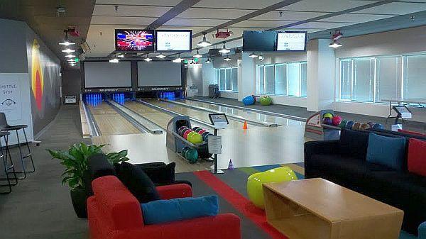 Google-HQ-Plex-Bowling
